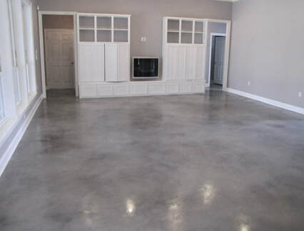Tampa Concrete Floor Polishing Metallic Epoxy Flooring 813